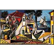 Art Pablo Picasso 'Mediterranean Landscape' 18 x 28 (8092100)