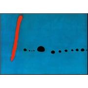 Art Joan Miro 'Bleu II' 28 x 40 (8092105)