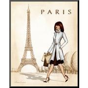 Art Andrea Laliberte 'Paris' 14 x 11 (8092131)