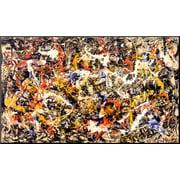 Art Jackson Pollock 'Convergence' 22 x 37 (8092236)