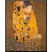Art.com Gustav Klimt 'The Kiss, c.1907'  20 x 16 (8092250)