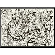 Art Jackson Pollock 'No. 14 (Gray)' 8 x 11 (8092753)