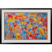 Art Jasper Johns 'Map' 30 x 43 (8285186)