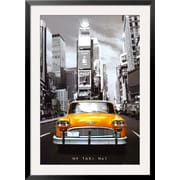 Art 'New York Taxi No. 1' 43 x 31 (8285278)