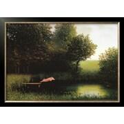 Art Michael Sowa 'Kohler's Pig' 22 x 30 (8301984)