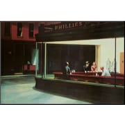 Art Edward Hopper 'Nighthawks, c.1942' 24 x 36 (8563337)