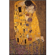 Art Gustav Klimt 'The Kiss' 36 x 24 (8563364)