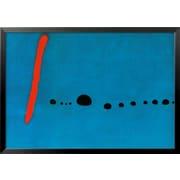 Art Joan Miro 'Bleu II' 29 x 41 (8629086)