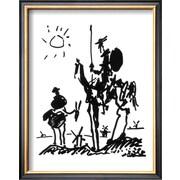 Art Pablo Picasso 'Don Quixote, c.1955' 15 x 12 (8629092)