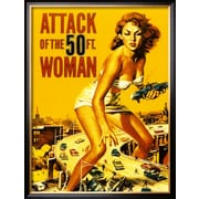 Art 'Attack of the 50 Foot Woman' 34 x 26 (8726346)