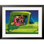 Art Ron Burns 'I Wanna Go' 20 x 26 (8867359)