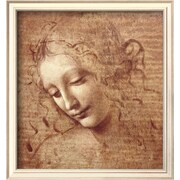 Art.com  Leonardo da Vinci 'Female Head (La Scapigliata), c.1508'  13 x 12 (8867425)