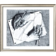 Art.com M. C. Escher 'Drawing Hands'  24 x 28 (8867430)