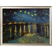 Art Vincent van Gogh 'Starry Night Over the Rhone, c.1888' 20 x 26 (8867431)