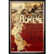 Art Adolfo Hohenstein 'La Boheme, Musica di Puccini' 28 x 19 (8870166)