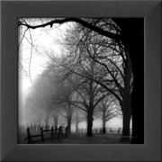 Art Harold Silverman 'Black and White Morning' 10 x 10 (8962705)