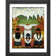 Art.com Diego Rivera 'Flower Festival: Feast of Santa Anita, 1931'  16 x 13 (9059280)