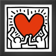 Art Keith Haring 'Untitled, c.1988' 14 x 14 (9060025)