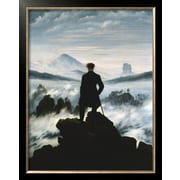 Art.com Caspar David Friedrich 'The Wanderer Above the Sea of Fog, c.1818'  29 x 23 (9369438)
