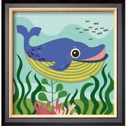 Art.com Jenn Ski 'Ocean Friends, Walter'  15 x 14 (9369718)