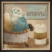 Art Hakimipour-ritter 'Unwind' 13 x 13 (9369903)