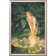 Art Edward Robert Hughes 'Midsummer Eve, c.1908' 37 x 25 (9370619)