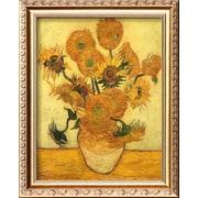 Art Vincent van Gogh 'Vase of Fifteen Sunflowers, c.1889' 17 x 14 (9370678)