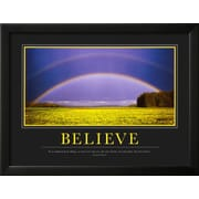Art.com  'Believe'  20 x 26 (9371311)