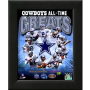 Art 'Dallas Cowboys All Time Greats Composite' 12 x 10 (9371380)
