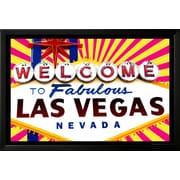 Art 'Fabulous Las Vegas' 26 x 38 (9371430)