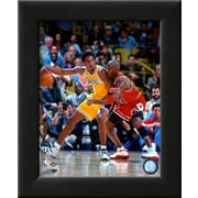 Art 'Michael Jordan & Kobe Bryant 1998 Action' 12 x 10 (9371549)