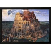 Art Pieter Bruegel the Elder 'The Tower of Babel, c.1563' 25 x 34 (9371709)