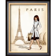 Art.com Andrea Laliberte 'Paris'  16 x 13 (9371794)