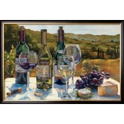 Art Marilyn Hageman 'A Wine Tasting' 26 x 38 (9371804)