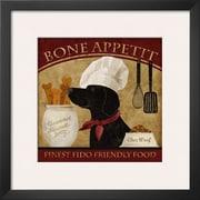 Art Conrad Knutsen 'Bone Appetit' 19 x 19 (9373143)