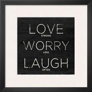 Art.com  'Love, Worry, Laugh'  19 x 19 (9373164)