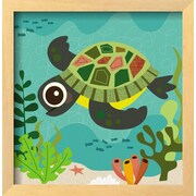 Art.com Jenn Ski 'Ocean Friends, Terrance'  14 x 13 (9643116)