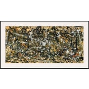 Art Jackson Pollock 'Number 8, 1949' 29 x 54 (9947440)