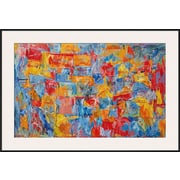 Art Jasper Johns 'Map' 29 x 42 (9949304)