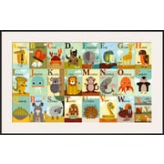 Art Jenn Ski 'Alphabet Zoo' 28 x 44 (9950001)