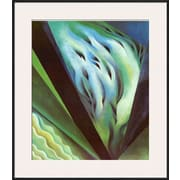Art Georgia O'Keeffe 'Blue Green Music' 30 x 26 (9950407)