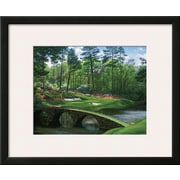 Art Larry Dyke 'The 12th At Augusta' 18 x 22 (10182637)