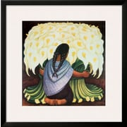 Art.com Diego Rivera 'The Flower Seller, c.1942'  30 x 30 (10196699)