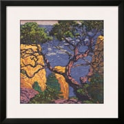 Art Gustave Baumann 'Pinon Grand Canyon' 26 x 26 (10200672)