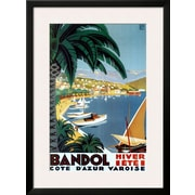 Art Roger Broders 'Bandol Hiver Ete' 34 x 25 (10202013)