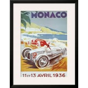 Art Geo Ham '8th Grand Prix Automobile, Monaco, 1936' 34 x 26 (10202042)