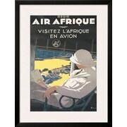 Art A. Roquin 'Air Afrique' 34 x 26 (10202266)