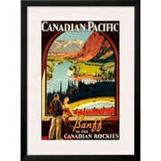Art 'Canadian Pacific, Banff' 32 x 23 (10202349)