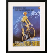 Art 'Bicyclette Royal Fabric' 34 x 26 (10202668)