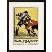 Art 'Rugby at Twickenham' 32 x 24 (10212455)